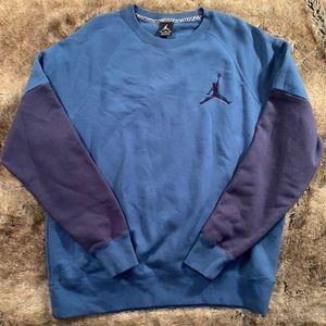 Jordan Colorblock Crew Neck Sweatshirt